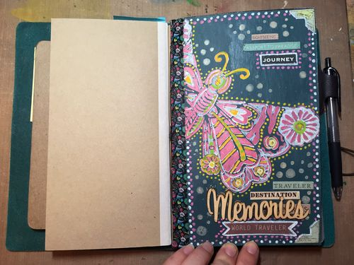 Traveler's Notebook Junque Journal - Gwen Lafleur