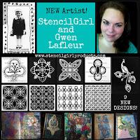 Gwen Lafleur November 2015 Stencil Release