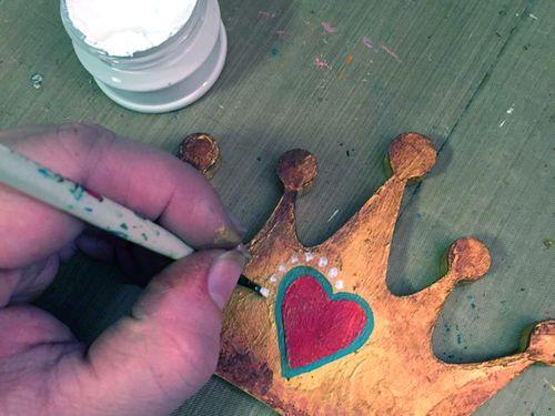 Momenta Stencils - Home Decor Girl's Initial - Step 6 - Gwen Lafleur