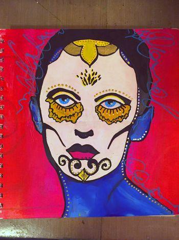 Mix and Match Faces - Art Journaling Page 3 - Gwen Lafleur