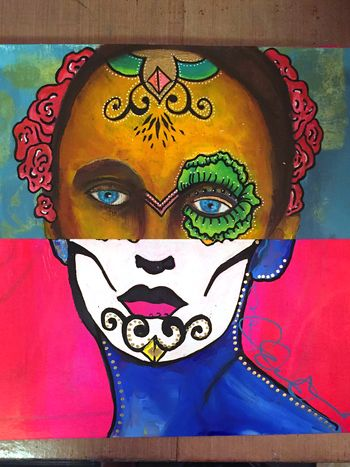 Mix and Match Faces - Art Journaling Mix 1 - Gwen Lafleur