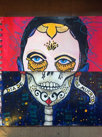 Mix and Match Faces - Art Journaling Mix 7 - Gwen Lafleur