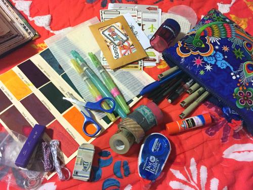 Asia Travel Journal Supply Kit - Gwen Lafleur
