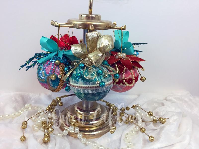Stenciled Holiday Ornaments Final 1 - Gwen Lafleur
