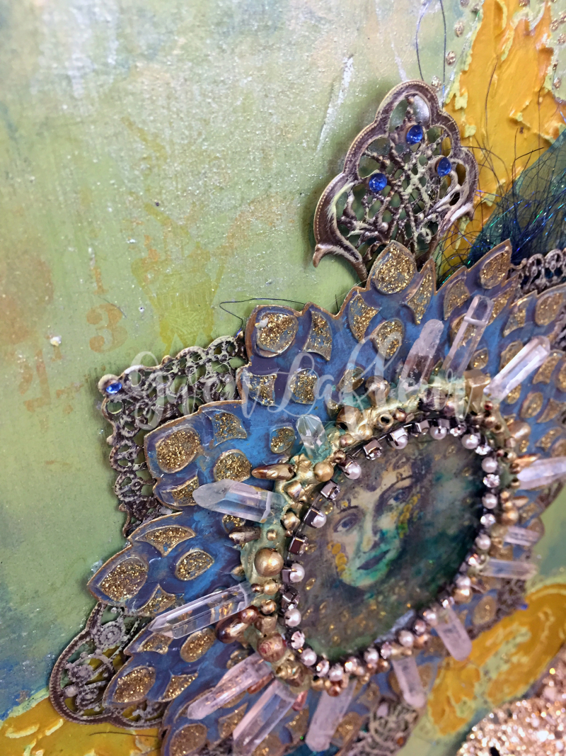 Lady of the Lake Close-up 2 - Gwen Lafleur