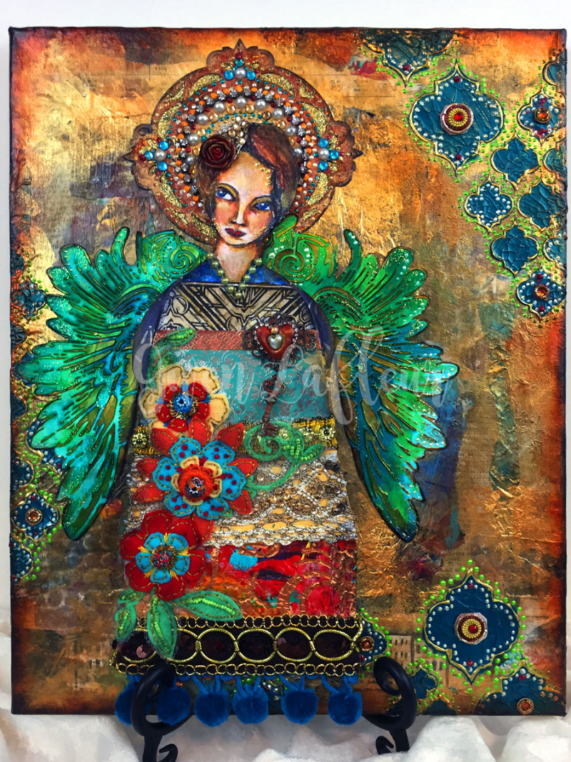 Mixed-Media-Angel---Gwen-Lafleur