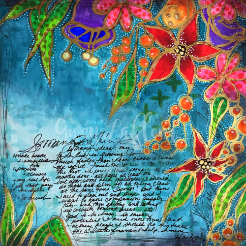 Wanderlust Week 3 - Art Journal Page - Gwen Lafleur