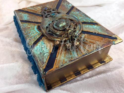StencilGirl - Amazing Casting - Deco Book and Box - View 6 - Gwen Lafleur