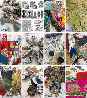 Gwen Lafleur Studios - Global Eclectic Mixed Media Supplies