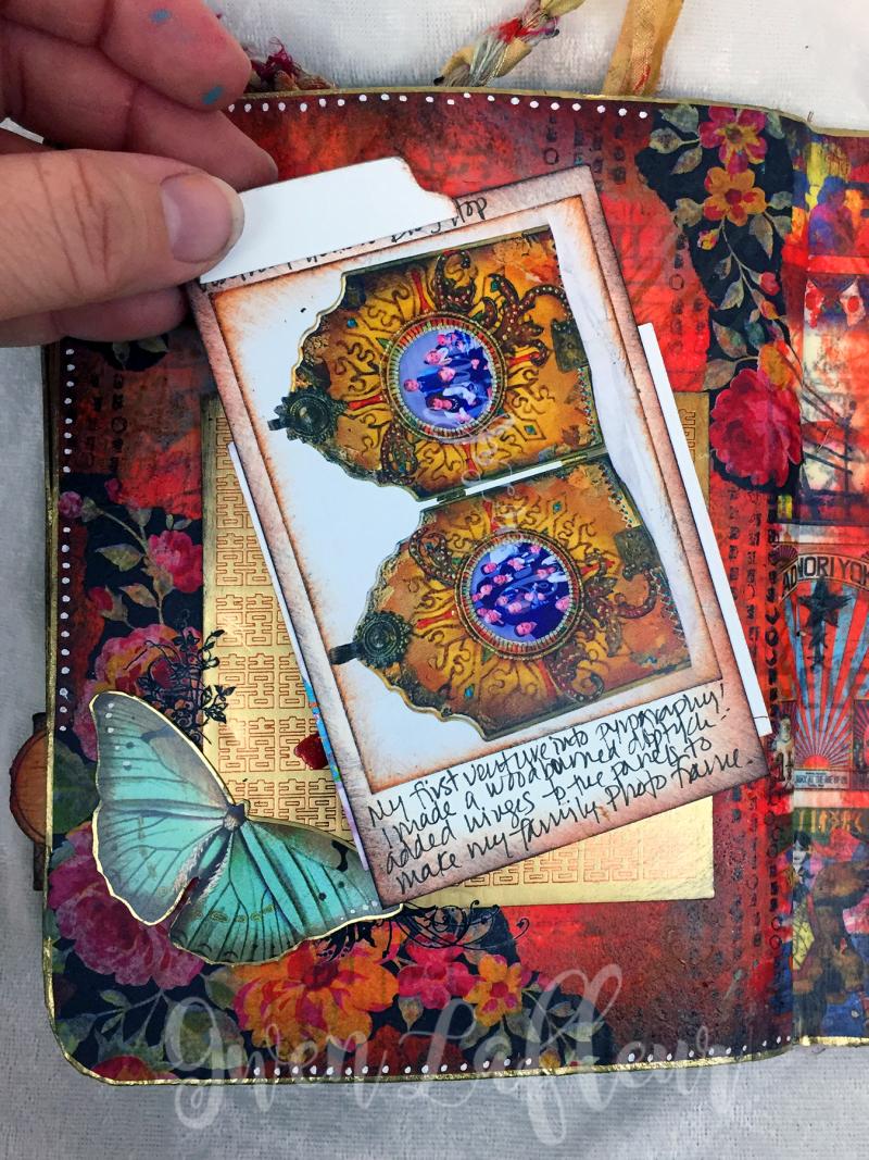 March ARTifacts Art Journal - Page 4a - Gwen Lafleur