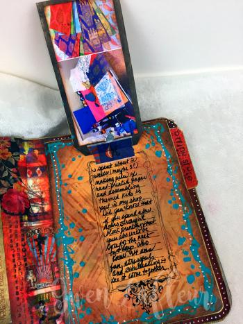 March ARTifacts Art Journal - Page 5a - Gwen Lafleur