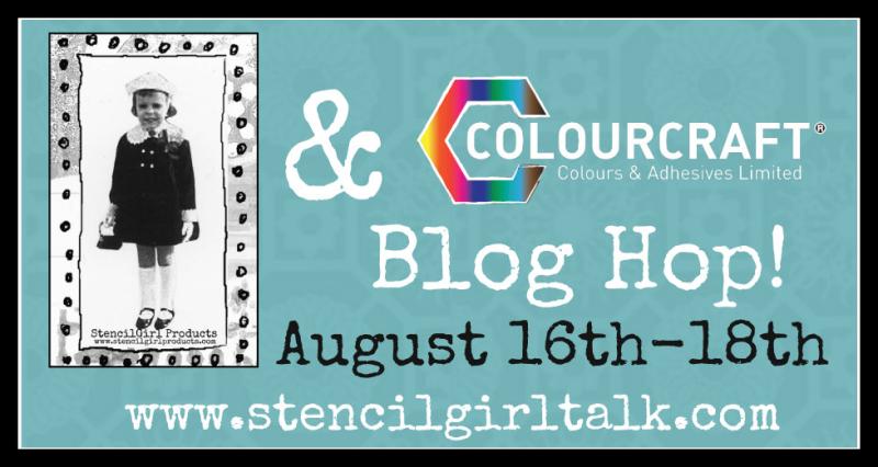 SG Colourcraft Blog Hop banner