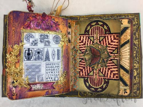 ARTifacts April 2017 - Spread 2 - Gwen Lafleur