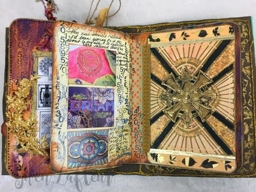 ARTifacts April 2017 - Spread 2b - Gwen Lafleur
