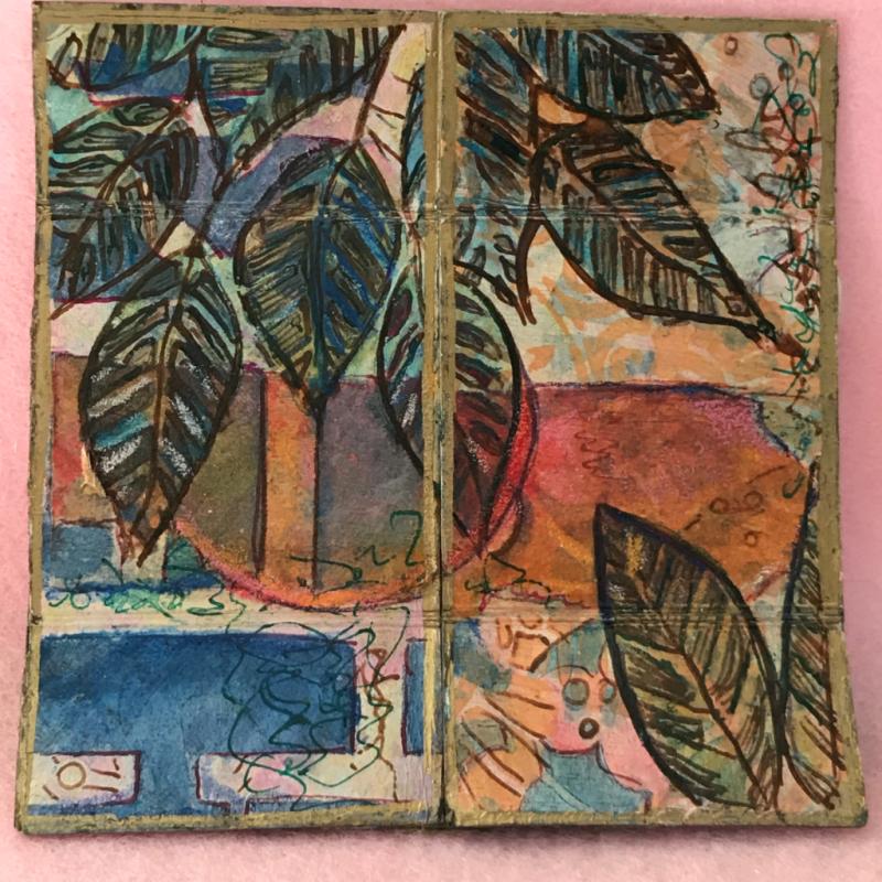Infinity Flip Art Journal by Jill McDowell