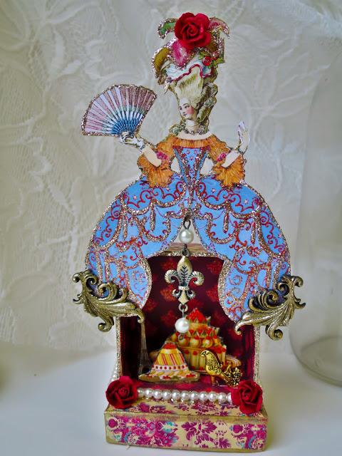 Marie Antoinette Shrine by Jackie Neal