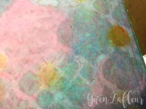 Stenciled-File-Folder-Art-Journal-with-Distress-Oxide-Inks-Spread-4-Closeup---Gwen-Lafleur