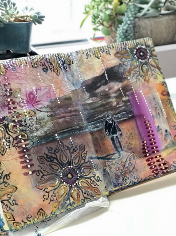 October Art Journaling Part 1 - Jill McDowell