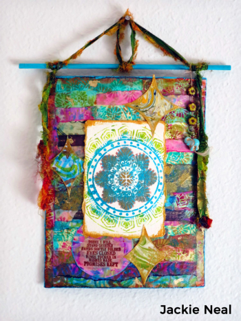 Stenciled-Mixed-Media-Wall-Hanging---Jackie-Neal