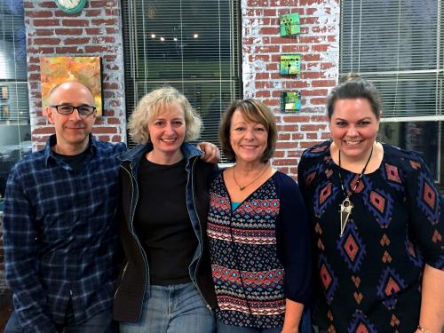 StencilGirl Tribe at the Improv - Nov 12 2017
