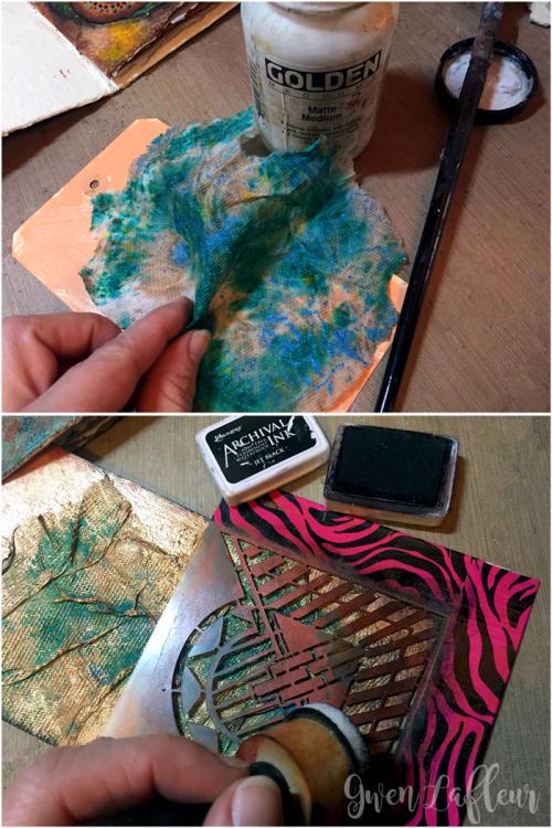 Sprayed-and-Stenciled-Tag---Step-3-4---Gwen-Lafleur