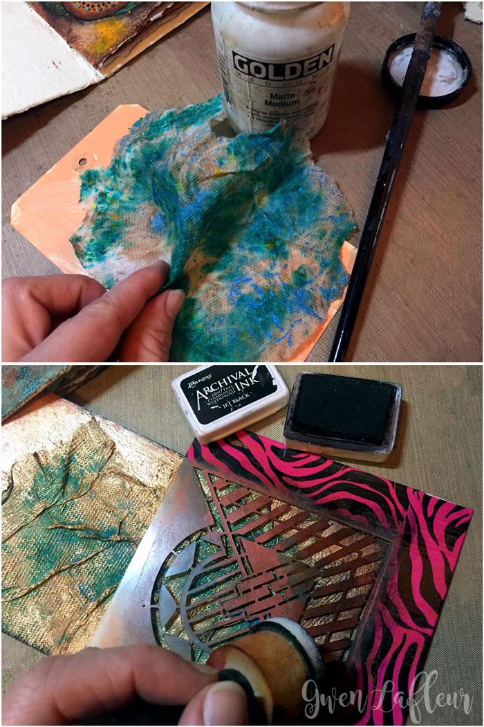 Sprayed-and-Stenciled-Tag---Step-1-2---Gwen-Lafleur