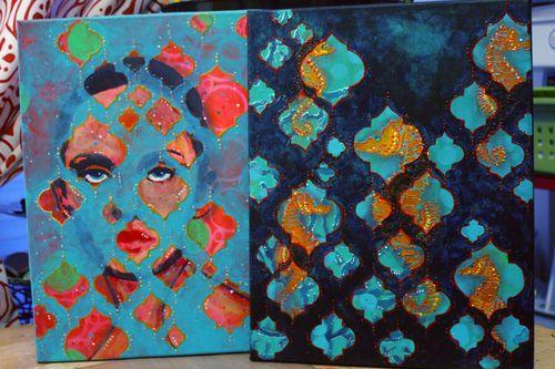 Beneath the Surface Class Samples by Gwen Lafleur