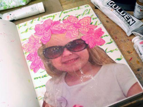 StencilGirl-Leslie Riley TAP Hop Step 4 - Gwen Lafleur