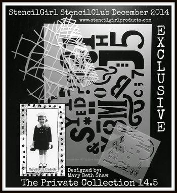 December 2014 StencilClub