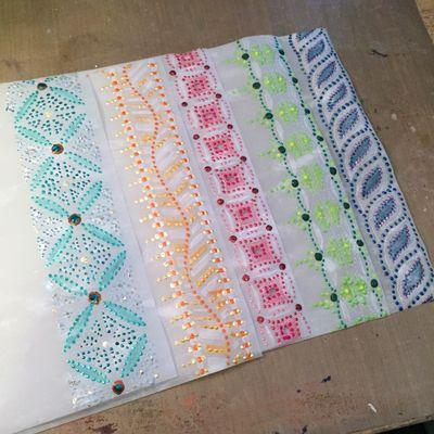 Color Themed Coptic Book 8 by Gwen Lafleur