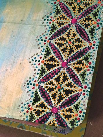 Color Themed Coptic Book Close-up by Gwen Lafleur