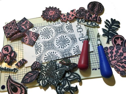 Stamp Carving 101 - Gwen Lafleur