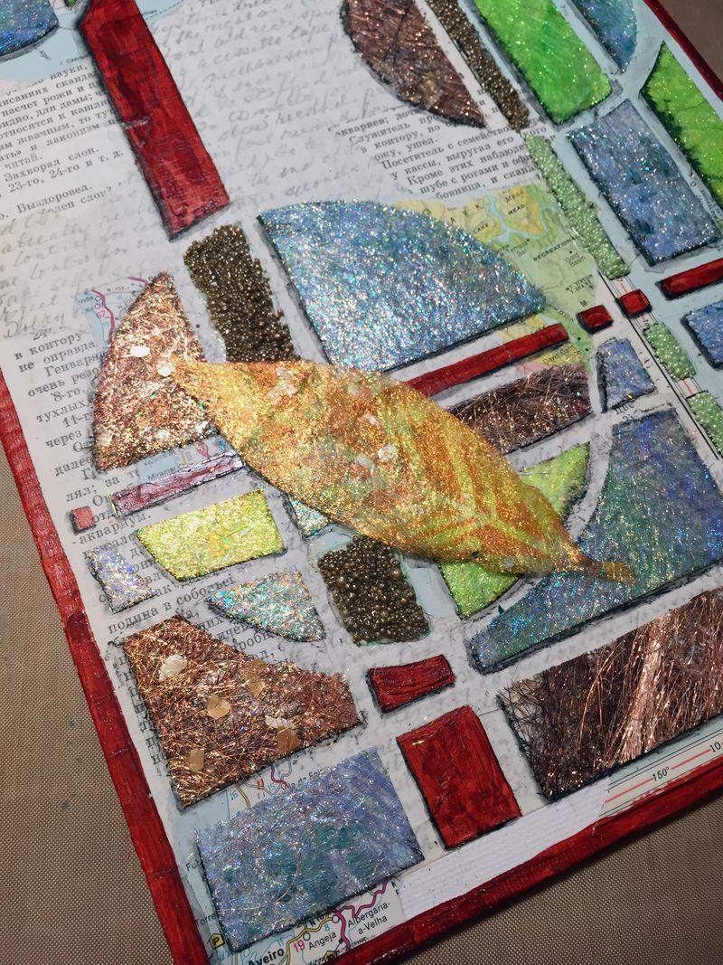 StencilGirl-USArtQuest Hop - Collage Close-up 1 - Gwen Lafleur