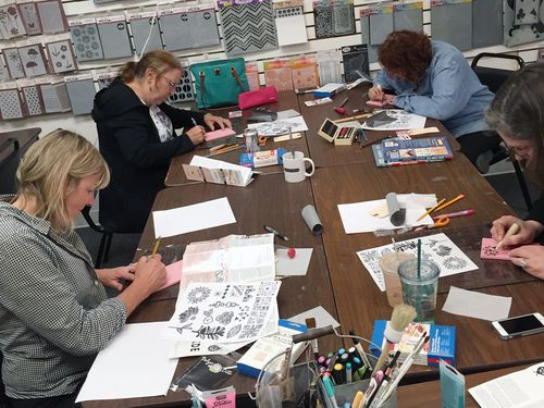 Stamp Carving 101 Class - Papercraft Clubhouse