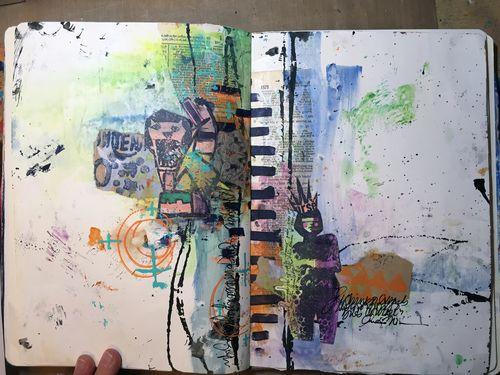 Random by Design with Dina Wakley P2-3 - Gwen Lafleur
