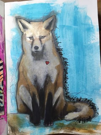 Creature Feature with Dina Wakley P1 - Gwen Lafleur
