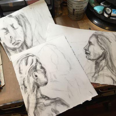 Portrait Drawing 2 - Gwen Lafleur