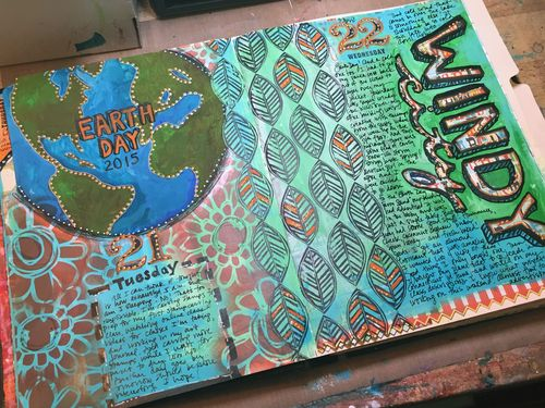Junque Journal Spread 3 - Gwen Lafleur