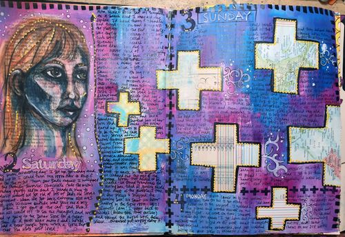 Junque Journal Spread 8 - Gwen Lafleur