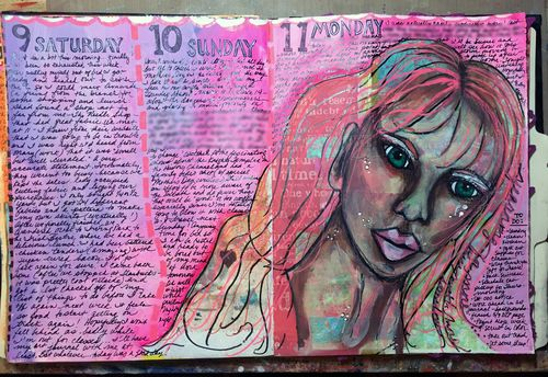 Junque Journal Spread 10 - Gwen Lafleur