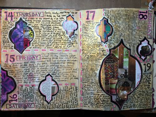 Junque Journal Spread 12 - Gwen Lafleur