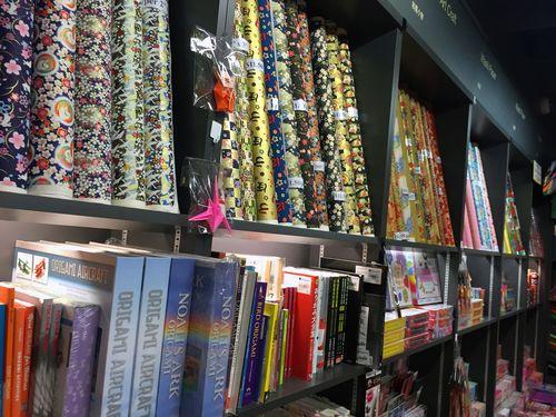 Japanese Bookstore Shopping
