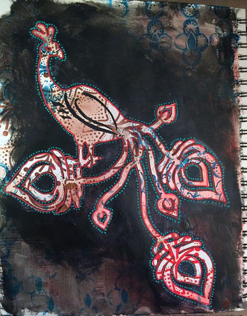 Mask a Patterned Background Demo Sample - Gwen Lafleur