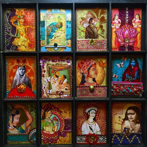Indian Summer ATCs Cards - Gwen Lafleur