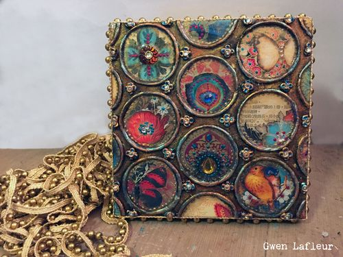 Making a Reliquary with Stencils - Gwen Lafleur
