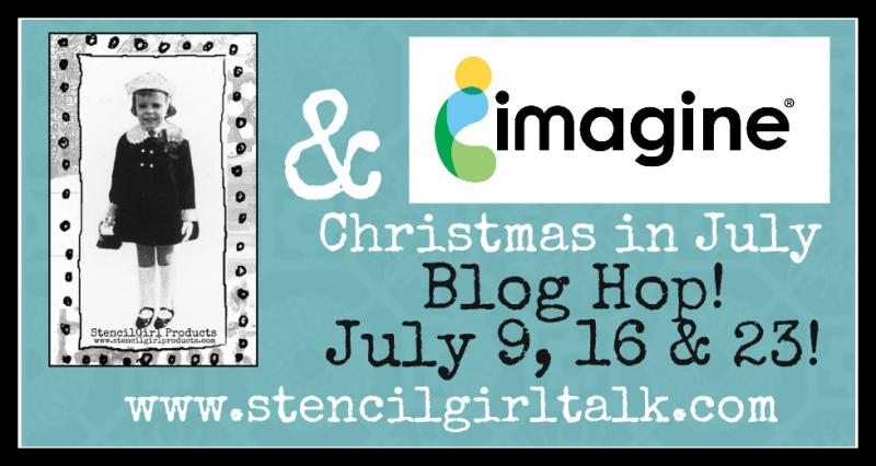 Christmas in July Blog Hop banner