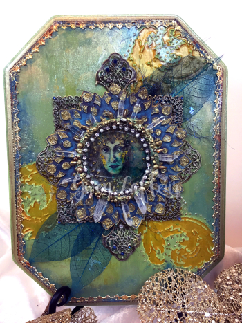 Lady of the Lake - Mixed Media - Gwen Lafleur
