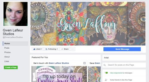 Gwen Lafleur Studios Facebook Page