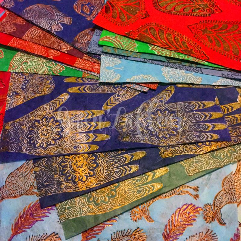 Printmaking - Blockprinting Close-up - Gwen Lafleur