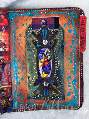 March ARTifacts Art Journal - Page 5 - Gwen Lafleur